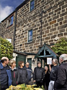 An historical tour of the village which takes in Andy Whitaker's West Terrace cottage