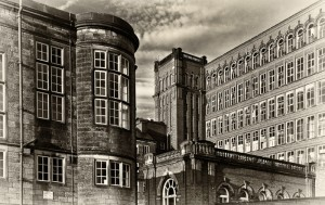 Belper - Mill - Sepia 001