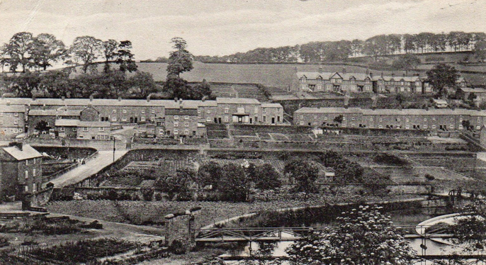 Hopping Hill 1916 showing allotments