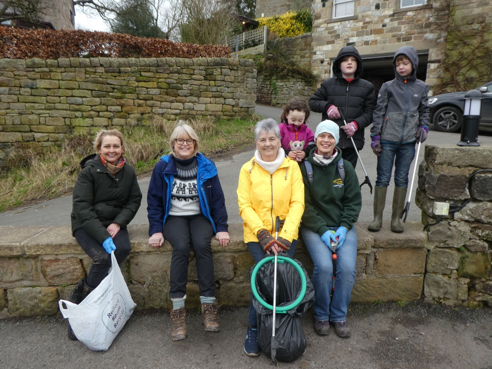 Litter pick Jan 2020