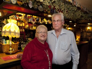 Pauline and Dave Sutton of the King William IV