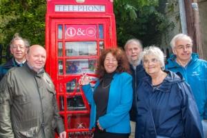 Milford Telephone Box Opening 002