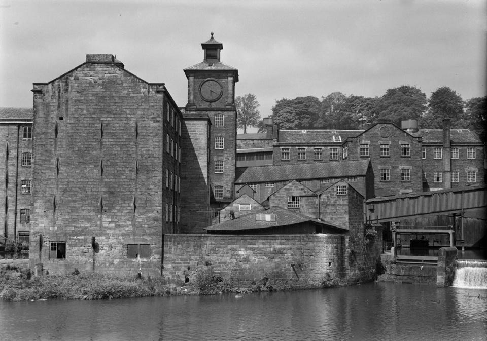 Mill 03 by John Piper