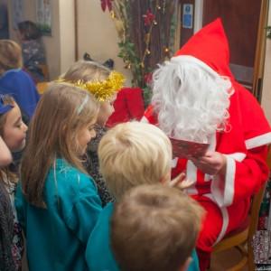 Milford School - Santa Visit 016